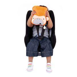 Paturica+perna copii  pentru calatorie Trunki SnooziHedz Monkey
