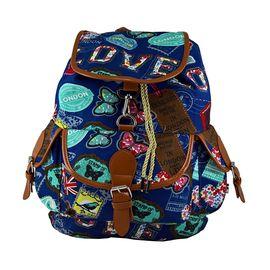 Rucsac urban Love2Travel, albastru, LaRue