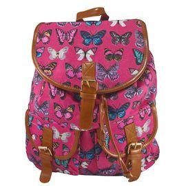 Rucsac urban Butterfly, fond roz - LaRue