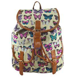 Rucsac urban Butterfly, fond bej - LaRue