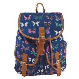 Rucsac urban Butterfly, fond albastru inchis - LaRue