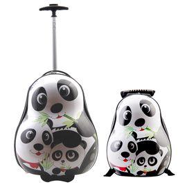 Set Troler si Ghiozdan copii Yanna - Panda
