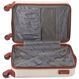 Troler Mediu ABS 4 Roti BENZI BZ 5164 - 65 cm