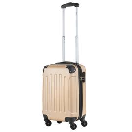 Troler Cabina ABS 4 Roti Detasabile TravelZ SERIE 53 cm Auriu