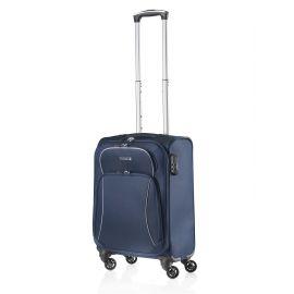 Troler Cabina Nylon 4 Roti TravelZ SOFTSPINNER 55 cm Bleumarin