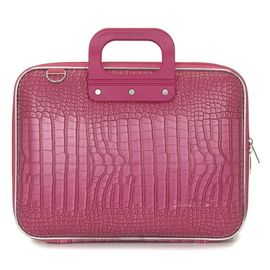 "Geanta lux business laptop 13"" Cocco Bombata-Roz"