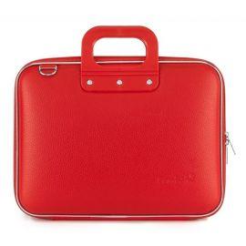 """Geanta lux business laptop 13"""" Medio Bombata-Rosu"""