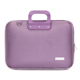 Geanta lux business laptop 15.6 in Clasic nylon Bombata-Lila