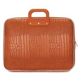 """Geanta lux business laptop 17"""" Cocco-Portocaliu"""