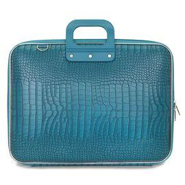 """Geanta lux business laptop 17"""" Cocco-Turcoaz"""