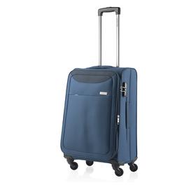 Troler Mediu Expandabil 4 Roti CarryOn AIR 67 cm Bleumarin