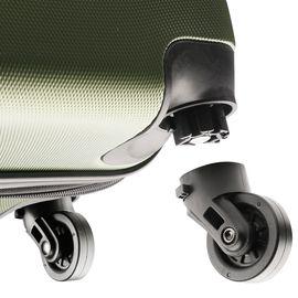Troler Cabina ABS 4 Roti Detasabile TravelZ SERIE 53 cm Verde