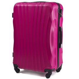 Troler Mediu WINGS SWIFT ABS 4 Roti 65 cm Fuchsia