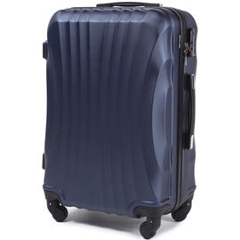 Troler Cabina WINGS SWIFT ABS 4 Roti 55 cm Bleumarin