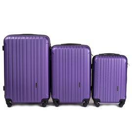 Set Trolere WINGS FLAMINGO ABS 4 Roti 3 Piese Mov