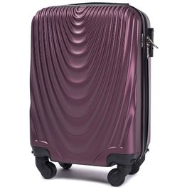 Troler Cabina WINGS FALCON ABS 4 Roti Detasabile 51 cm Burgundy