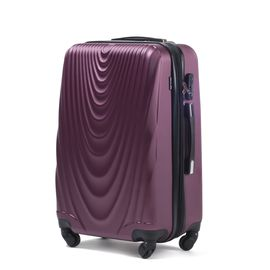 Troler Cabina WINGS FALCON ABS 4 Roti 55 cm Burgundy