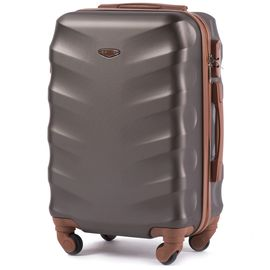 Troler Cabina WINGS ALBATROSS ABS 4 Roti 55 cm Coffee