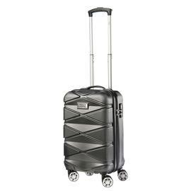 Troler Cabina ABS TravelZ DIAMOND 55 cm Negru