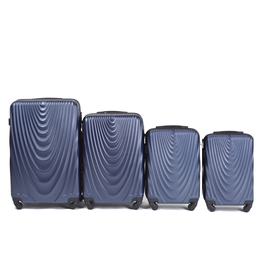 Set Trolere WINGS FALCON ABS 4 Piese Bleumarin