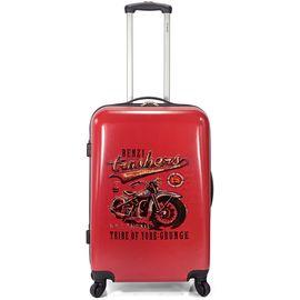 Troler Cabina ABS 4 Roti BENZI BZ 5338 - 56 cm Rosu