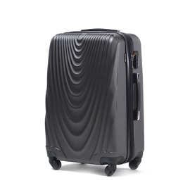 Troler Cabina WINGS FALCON ABS 4 Roti 55 cm Antracit
