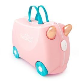 Troler copii TRUNKI FLOSSY the Flamingo - 46 cm