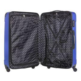 Troler Mare ABS 4 Roti TravelZ SERIE 76 cm Albastru