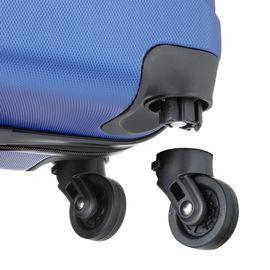 Troler Cabina ABS 4 Roti Detasabile TravelZ SERIE 53 cm Albastru