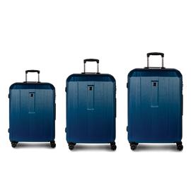 Set Trolere cu Cifru TSA 4 Roti Duble Policarbonat FABRIZIO GATEWAY F10345, 3 Piese