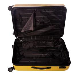 Troler Mare ABS 4 Roti Duble ELLA ICON RAINBOW 1103-75 cm Galben
