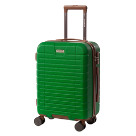 Troler Cabina ABS 4 Roti Duble ELLA ICON LEAF 1139-55 cm Verde