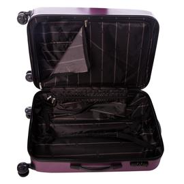 Troler Mediu ABS 4 Roti Duble ELLA ICON RAINBOW 1147-65 cm Mov