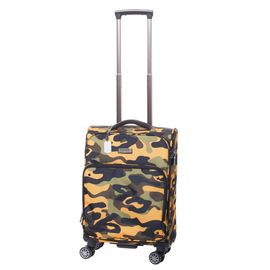Troler Cabina Poliester 4 Roti Duble ELLA ICON ARMY 1156-55 cm Army Orange