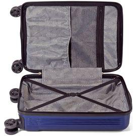 Troler Cabina ABS 4 Roti Duble Cifru TSA BENZI BOS 1353 - 54 cm