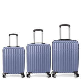 Set Trolere ABS 4 Roti Duble BENZI BZ 5354, 3 Piese