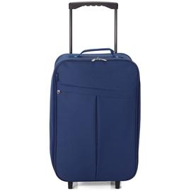 Troler Cabina Pliabil BENZI BZ 5376 - 55 cm Bleumarin