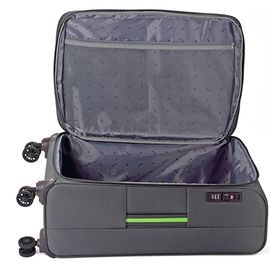 Troler Mare Poliester Extensibil 4 Roti Duble Cifru TSA BENZI BZ 5390 - 77 cm