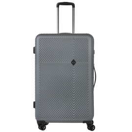 Troler Mare ABS/PC, Cifru TSA, Cod unic OKOBAN, CarryOn CONNECT, 77 cm, Antracit