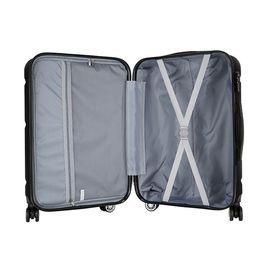 Troler Cabina, ABS, 4 Roti Duble, Cifru TSA, Mirano NEO TONE, 40 cm