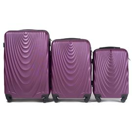 Set Trolere WINGS FALCON ABS 3 Piese Mov inchis