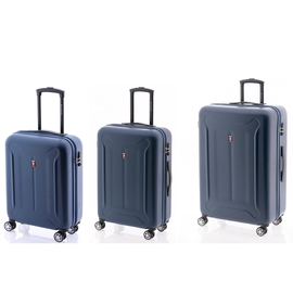 Set Trolere ABS, 4 Roti Duble, Cifru TSA, GLADIATOR BEETLE, MG 48, 3 Piese