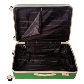 Troler Mare ABS 4 Roti Duble ELLA ICON LEAF 1137-76 cm Verde