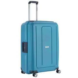 Troler Mare Polipropilena inchidere cu clapeta TravelZ Locker 76 cm Albastru
