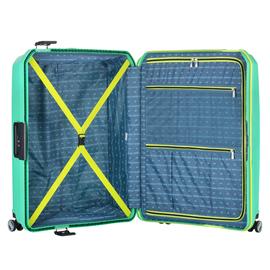 Troler Mare Polipropilena inchidere cu clapeta TravelZ Locker 76 cm Verde deschis