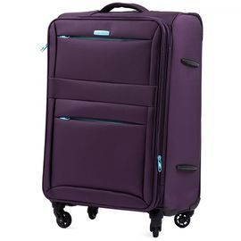 Troler Cabina WINGS W2861 - 4 Roti 55 cm Mov inchis