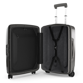 Troler Cabina Thule Revolve Wide-body Carry On Spinner Raven 55 cm Negru
