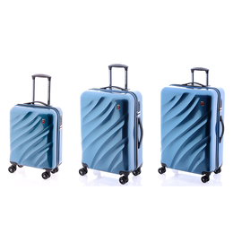 Set Trolere Policarbonat 4 Roti Duble GLADIATOR SPACE MG 41 - 3 Piese