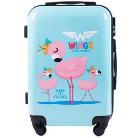 Troler Copii Wings WKIDS - 55 cm Flamingo