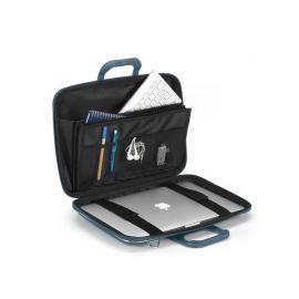 "Geanta lux business laptop 15"" Clasic vinil Bombata-Galben"